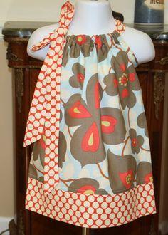 Pillowcase dress. Adorable