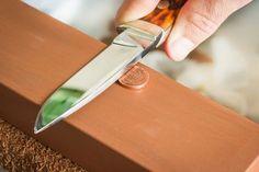 Basic knife sharpening