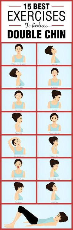 15 Best Exercises to Reduce Double Chin – Simple exercises that can help you get rid of double chin