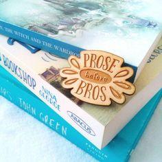 😂📚 Prose Before Bros Book Pin