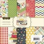 "Summer Fresh Paper Pad 6""X6"" 36 Sheets-Simple Stories"