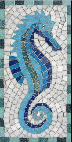 Mosaic kit - choice of 5 designs - size x - designed by Martin Cheek Mosaic Kits, Mosaic Tile Art, Mosaic Artwork, Mosaic Glass, Glass Tiles, Stained Glass, Pebble Mosaic, Mosaic Mirrors, Cement Tiles