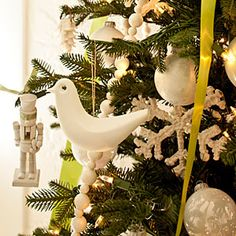 Spray Paint Ornaments | SouthernLiving.com