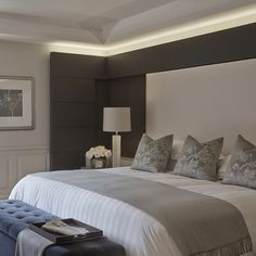Stunning bedroom, so elegant and relaxing by sophie paterson interiors