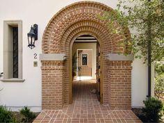 Front Entrance Brick Detailing : JZMK Partners : Home Exteriors : Pro Galleries : HGTV Remodels