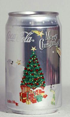 Coca-Cola Hong Kong Christmas can. Coca Cola Santa, Coca Cola Christmas, Coca Cola Ad, Always Coca Cola, World Of Coca Cola, Coca Cola Bottles, Coke Cans, Noel Christmas, Xmas