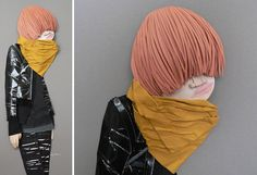 Paper Sculptures by Megan Brain