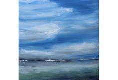 Oil Painting, Misted Fog by Tricia Strickfaden on OneKingsLane.com