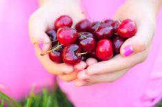 Pink summer cherry love - Pink Sherbet Photography