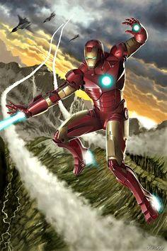 Iron Man by caiocacau.deviantart.com on @deviantART  Auction your comics on http://www.comicbazaar.co.uk