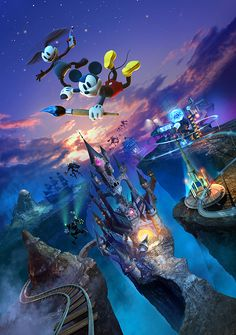 Epic Mickey 2 by Albert Co http://www.inspirefirst.com/2013/06/18/epic-mickey-2-albert/