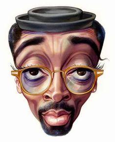 Spike Lee  Artist: John Kascht  website: http://www.johnkascht.com/