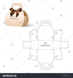 Bastelideen Retail Box Blueprint Template Stock-Vektorgrafik (Lizenzfrei) 374759452 Unlocking The Se Paper Gift Box, Diy Gift Box, Diy Box, Paper Gifts, Diy Paper, Diy Gifts, Karton Design, Paper Box Template, Paper Purse