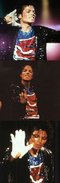 Michael Jackson performing Billie Jean on the Victory Tour