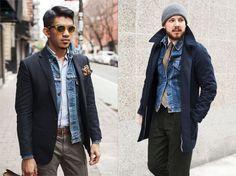 Ge mig fem: jeansjackan - King