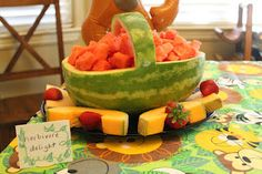 Water Melon Basket
