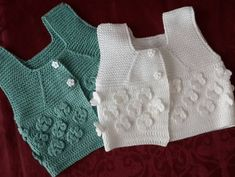 25 Likes, 2 Comments - Hülya İ . Baby Cardigan, Cardigan Bebe, Baby Pullover, Crochet Girls, Crochet For Kids, Crochet Baby, Baby Girl Patterns, Baby Knitting Patterns, Tricot Simple