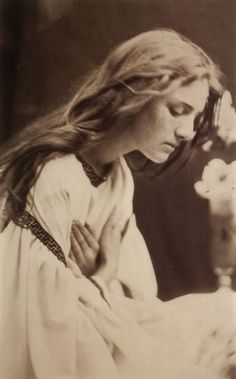 "Julia Margaret Cameron, ""After the Manner of Perugino,"" Albumen print, 1865 From 'Julia Margaret Cameron's Women"""