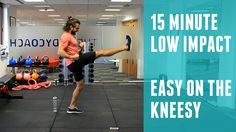 Low Impact Home HIIT Workout (Easy On The Knees) | The Body Coach