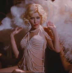 Burlesque Movie Christina Aguilera PEARL Bra by GlitterBombShell, $285.00