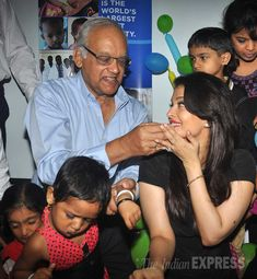 Former Miss World Aishwarya Rai Bachchan is still daddy's li'l girl