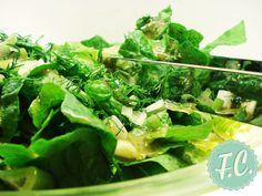Πράσινη Σαλάτα με Dressing Τζίντζερ By Ευα Μονοχαρη Published: Οκτωβρίου 25, 2013Yield: 1 (4 Servings)Prep: 5 minsΗ πράσινη σαλάτα στην καλύτερή της