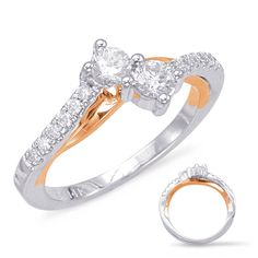 26392 Classic Engagement Rings, Solitaire Engagement, Or Rose, Rose Gold, Fashion Rings, Women's Fashion, Right Hand Rings, Cocktail Rings, Band