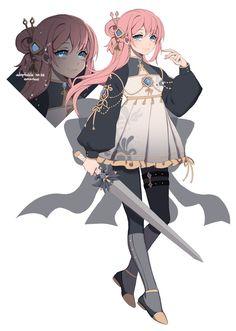 Female Character Design, Character Design References, Character Drawing, Character Design Inspiration, Character Concept, Oc Manga, Manga Anime Girl, Kawaii Anime Girl, Girls Characters