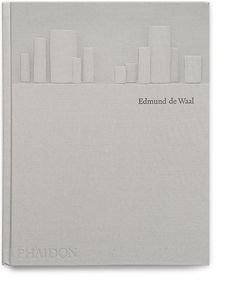 Monograph on artist and writer Edmund de Waal. Designed by Sonya Dyakova. Cloth bound, 3-d embossed cover / uncoated and pre-dyed papers, bible paper.  Published by Phaidon Press
