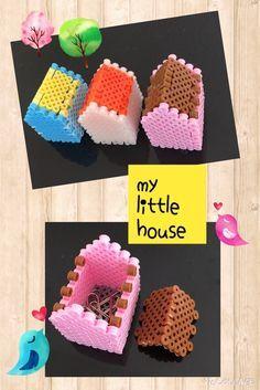 My little house perler beads