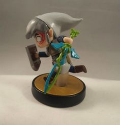 custom Deity Toon Link with sword Amiibo by xxIvoteforSBelmontXX