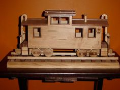 T&J Caboose - by MrWoody @ LumberJocks.com ~ woodworking community
