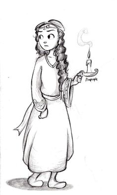 Mm, random Princess Jenna sketch, cause I haven't drawn Septimus Heap for a while