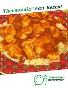 Schaschlik - Geflügel auf Reis von Litsili. Ein Thermomix ® Rezept aus der Kategorie Hauptgerichte mit Fleisch auf www.rezeptwelt.de, der Thermomix ® Community.