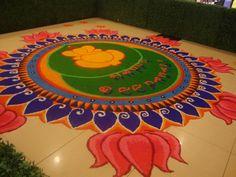 Image detail for -diwali-rangoli-patterns-with-ganesha-lotus-round-shape