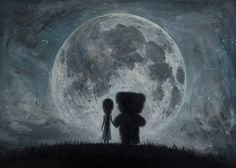 In my dreams you always bring me to the Moon... by borda.deviantart.com on @DeviantArt
