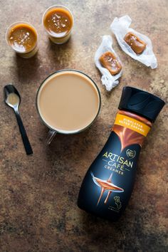 Artisan Café Himalayan Salted Caramel by Coffee-mate is a delicious combination of luxuriously rich cream and carefully sourced ingredients from the Himalayas. Start your day with a truly indulgent coffee experience. Artisan Cafe, Philz Coffee, Ireland Food, Healthy Muffin Recipes, Healthy Muffins, Vegetarian Recipes, Food Travel, Travel Mugs, Coffee Travel