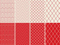 Dribbble - Humanist Patterns by Michael Calleia
