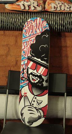 Skateboards by Konrad Łukasiak, via Behance