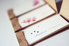 so clever! calling cards-matchbook style-with any design from storybymia on etsy