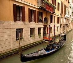 Our hotel in Venice, Hotel Becher, had a private gondola landing.  Best hotel and trip ever.