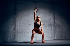 Our HIIT kettlebell