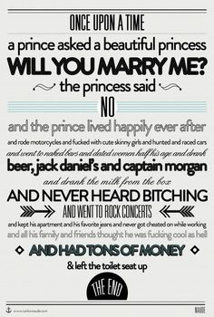 Once Upon A Time A Prince Got Turned Down