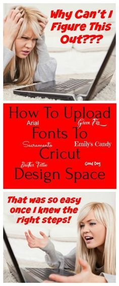 cricut hacks In a Hurry? Click Guide to Upload Fonts Learn how to upload fonts to Cricut Design Space from online sites that offer free fonts. Every Cricut lover needs to know how to upl Cricut Air 2, Cricut Help, Cricut Vinyl, Free Fonts For Cricut, Cricut Fonts Cartridges, Cricut Stencils, Cricut Monogram, Font Free, Vinyl Art