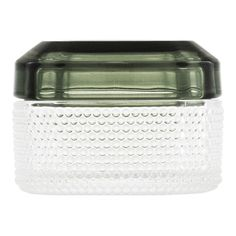 Brilliant is a range of small glass boxes with lids in colors inspired by gems and precious stones. A patterned bottom part creates a camouflage effect while the transparent lid lets you get a peek of what is inside.The Brilliant Boxes are designed to keep you valuable belonging safe, but can easily be used to store anything from jewelry to keys, coins, cotton balls and even the kids' milk teeth. Or treat yourself and your friends to some candy using Brilliant as a decorative bonbonniere.The dur Storage Sets, Extra Storage Space, Storage Spaces, Turquoise And Purple, Green And Purple, Glass Boxes, Box With Lid, Window Sill, 4 H