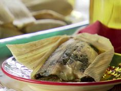 Kale and Cheese Tamales Recipe : Marcela Valladolid : Food Network