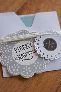 :: make your own Christmas tags ::