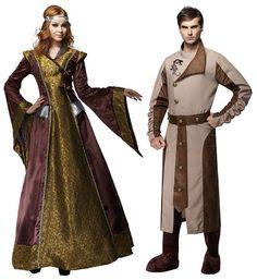 Women's Medieval Beauty Costume