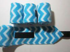 Polo wraps-Turquoise chevron Polo Wraps, Turquoise Chevron, Horses, Ebay, Accessories, Horse, Teal Chevron, Jewelry Accessories