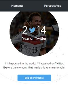 Twitter: #YearInReview2014